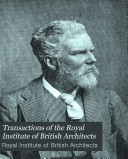 Transactions of the Royal Institute of British Architects