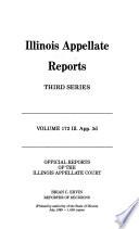 Illinois Appellate Reports