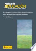 La competencia emocional en los currículos de formación inicial de los docentes. Un estudio comparativo