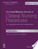 The Royal Marsden Manual of Clinical Nursing Procedures, Professional Edition