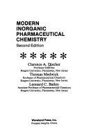 Modern Inorganic Pharmaceutical Chemistry