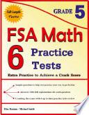 6 FSA Math Practice Tests Grade 5