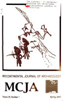 Midcontinental Journal of Archaeology, MCJA.