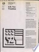 U S  Tax Treaties