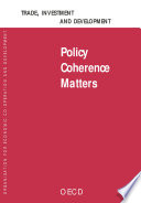 Trade Investment And Development Policy Coherence Matters