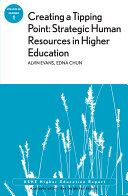 Creating a Tipping Point: Strategic Human Resources in Higher Education