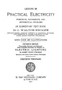 Lessons in Practical Electricity  Principles  Experiments  and Arithmetical Problems