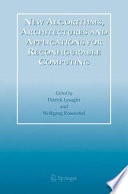 New Algorithms  Architectures and Applications for Reconfigurable Computing Book