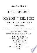 Chambers S Cyclopaedia Of English Literature