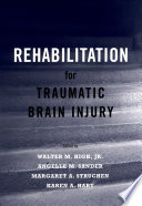 Rehabilitation for Traumatic Brain Injury Book