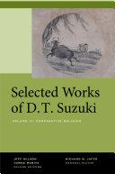 Selected Works of D T  Suzuki  Volume III