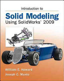 Cover of Introduction to Solid Modeling Using SolidWorks 2009