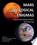 Mars Geological Enigmas Book