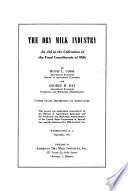 The Dry Milk Industry