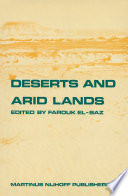 Deserts and arid lands Book