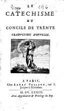Le Catechisme du Concile de Trente