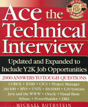 Ace the Technical Interview Book