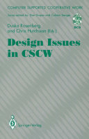 Design Issues in CSCW Book