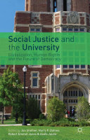 Pdf Social Justice and the University Telecharger