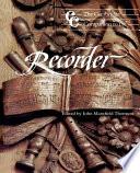 The Cambridge Companion to the Recorder Book