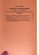 Natal Museum Journal of Humanities