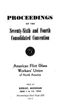 Proceedings Of The And Consolidated Convention