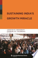 Sustaining India S Growth Miracle
