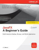 JavaFX A Beginners Guide