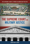 The Supreme Court and Military Justice Pdf/ePub eBook