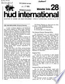 Hud International Information Series