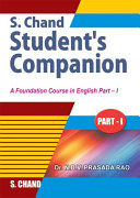 Pdf S.Chand'S Students Companion (Part-1) Telecharger