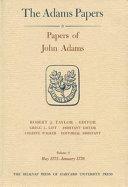 Papers of John Adams Book PDF