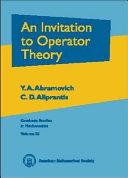 An Invitation to Operator Theory [Pdf/ePub] eBook