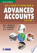 Solutions to Problems In Advanced Accounts Vol-2