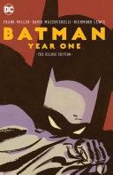 Batman: Year One Deluxe Edition [Pdf/ePub] eBook