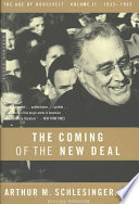 The Coming Of The New Deal 1933 1935
