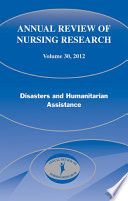 Annual Review Of Nursing Research Volume 30 2012