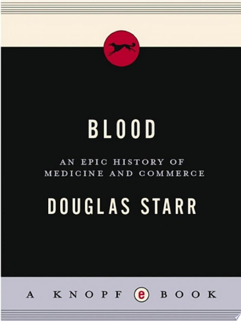 Blood banner backdrop