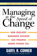 Managing at the Speed of Change Pdf/ePub eBook