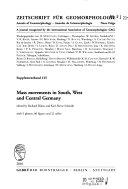 Annales de géomorphologie