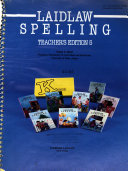 Laidlaw Spelling  Teacher s ed