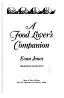 A Food Lover s Companion Book