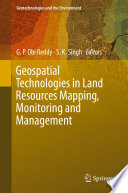 Book Cover: Geospatial Technologies in Land REsource Mapping, Monitoring and Management