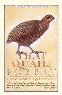 Pdf That Quail, Robert Telecharger