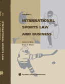 International Sports Law and Business