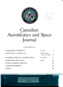 Canadian Aeronautics and Space Journal