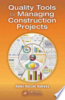 Quality Tools For Managing Construction Projects Book PDF