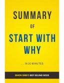Start With Why: by Simon Sinek | Summary & Analysis Pdf/ePub eBook