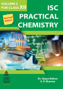 Pdf ISC Practical Chemistry Volume II for Class XII (2021 Edition)