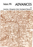 Advances in Austrian Hungarian Joint Geological Research